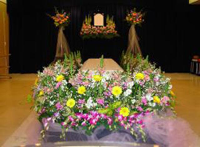 無宗教 花祭壇